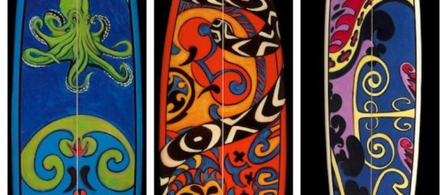 Hand Painted Surfboards