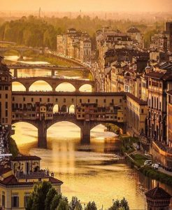 Florence Italy where Tim lived for five years