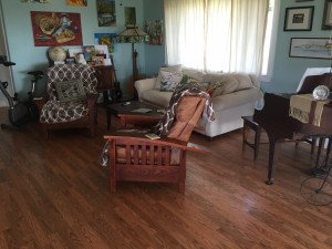 Full view of the old living room