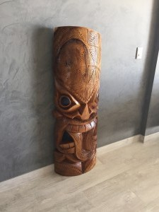 Tiki of protection and peace