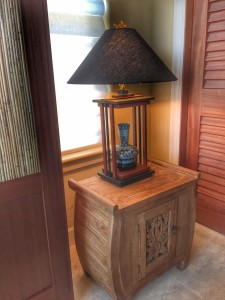 Custom made lamp by Jon Nordby