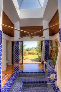 A Morrocan inspired shower