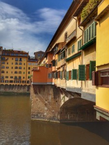 The Ponte Vecchio - a 900 year old bridge in Florence